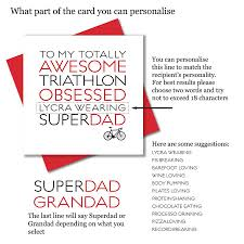 triathlon ironman obsessed dad father s day card