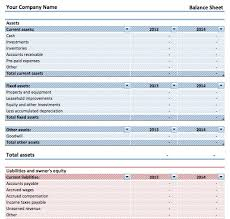 14 How To Create A Balance Sheet In Excel Resume Cover