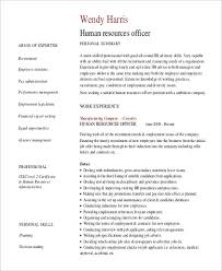Resume Professional Summary