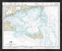 13237 Nantucket Sound Approaches Nantucket Travel Map