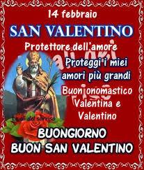 Buon onomastico Valentino - Valentina oggi 14 febbraio: video e immagini di  auguri da inviare via social