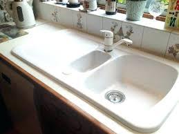 farmhouse sink with drainboard s legs kohler clarion
