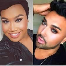 black male makeup artist insram mugeek vidalondon