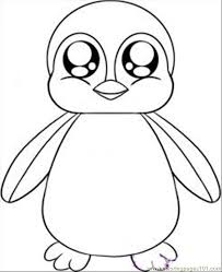 Top 20 penguin coloring pages for kids: Free Printable Penguin Coloring Pages For Kids