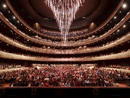 Chandelier At Dallas Winspear Opera House Gets A New Theme