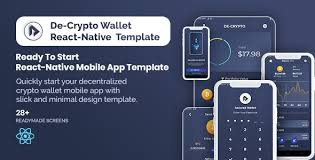 Monitor your hashrate for users and workers, see your daily and monthly earnings. De Crpyto Wallet Cryptocurrency Mobile App React Native Template By Zluck