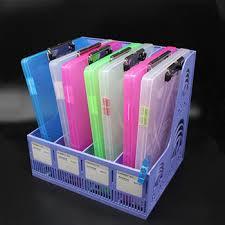 plastic file storage.  Plastic Storage Clipboard A4 Plastic File FolderDocument Box Box And