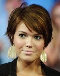 Hairstyle Short Female Round Faces Beauty Hair And Double Chins