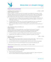 Sample Graphic Design Resume 10 Designer Page2 Resumegraphic