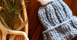 Chunky Knit Hat Pattern