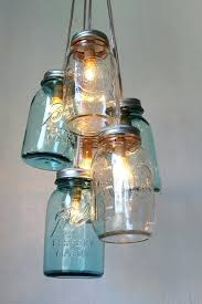 mason jar chandeliers mason jar chandelier handcrafted rustic hanging lighting fixture 6 cered clear and antique