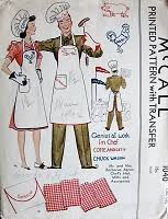 Vintage Apron Patterns Gorgeous VINTAGE APRON PATTERNS