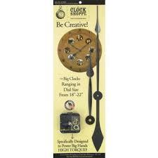 high torque movement clock hands dial
