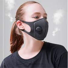 Breath Valve PM2.5 Mouth <b>Mask Anti</b> Pollution <b>Mask</b> Cloth Activated ...