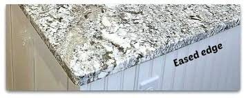 granite countertop edges images square eased gray on kitchen for and labeled