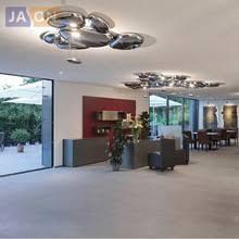 dropped ceiling lighting. LED Postmodern Nodic Alloy Chrome Water Drop Lamp.LED Light.Ceiling Lights. Dropped Ceiling Lighting