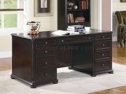 classic office desks. modren classic rich dark brown finish classic office desk woptional items throughout desks f