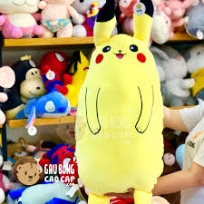 Gối ôm dài Pikachu đứng - Gấu Bông Cao Cấp - gaubongcaocap.com