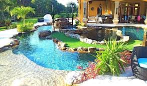 backyard swimming pool designs. Delighful Designs Backyard Oasis Designs Lagoon Swimming Pool Unique  Lazy River With Island In Backyard Swimming Pool Designs