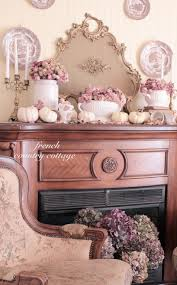 Rose Cottage Country Kitchen Decorating With Dried Flowers French Country Cottage