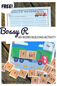 Free Printable Sign In Sheets Impressive Bossy R Ar Word Building Activity Word Families Pinterest