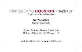 Graduate Student Business Cards Template Graduate Student