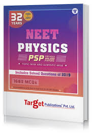 32 Years Neet And Aipmt Physics Chapterwise Previous Year Solved Question Paper Book Psp Topicwise Mcqs With Solutions 1988 To 2019 Smart Tool