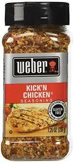 weber kick n en seasoning oz