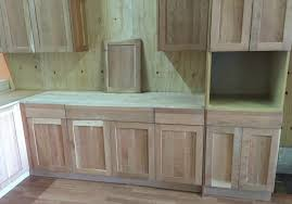 Cherry Shaker Kitchen Cabinets Unfinished Natural American Cherry Shaker Kitchen Cabinets