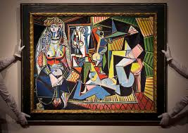 les femmes d alger an oil on canvas painted by picasso on feb