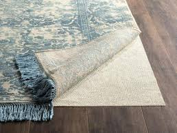 recommended for area rugs placed on all hard surface flooring non slip