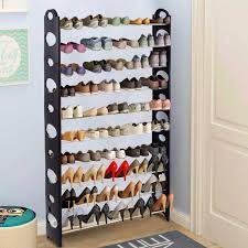 space saving storage furniture. Goplus Adjustable 30 Pair DIY 2/4/6/8/10 Layer Shoe Space Saving Storage Furniture