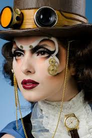 candy make up artist steunk makeup make up