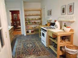A Kitchen Without Traditional Cabinets Thought Not About Food Freestanding Kitchen Kitchen Without Lower Cabinets Traditional Cabinets