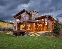 Rustic Modern Home Design Interesting Design Inspiration