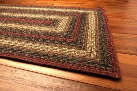 jute braided area rug country home primitive decor rugs star
