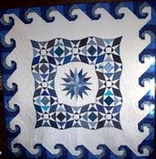 Storm at Sea quilt with wave border | Quilts: BLUE | Pinterest ... & Storm at Sea quilt with wave border | Quilts: BLUE | Pinterest Adamdwight.com