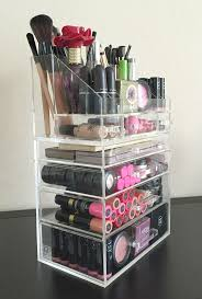 Mesmerizing Makeup Organizer Ideas Cosmetic Storage Organizer Ideas Cosmetic  in ...