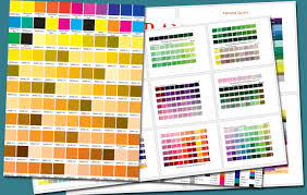 **this chart is a reference guide only. Free Pantone Color Chart Page 3 Line 17qq Com