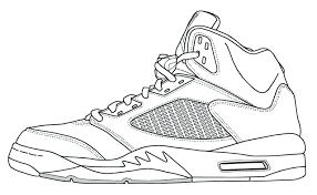Small Picture Coloring Pages Shoes Elioleracom