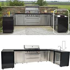 for those who want to make stylish cooking and eating outdoors into an art form the range of mont alpi outdoor kitchens is truly aspirational