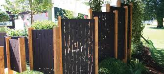 beautiful lazer cut garden screens
