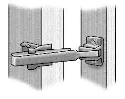 Image Baby Proof Door Limiter Or Door Bar Bless This Stuff Door Chains And Limiters The Crime Prevention Website