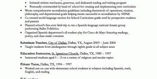 High School Teacher Resume Template Homeschool Teacher Resume ...