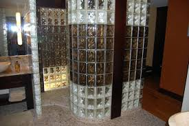 showers glass block shower contemporary bathroom by kits home depot