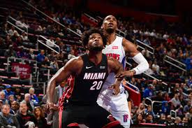 Detroit Pistons vs Miami Heat 2019-20 ...