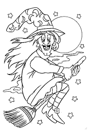 Small Picture Halloween coloring pages from monsters witches ghosts etc