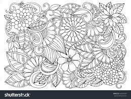 Small Picture Flower Pattern Coloring Pages at Best All Coloring Pages Tips