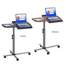 adjule mobile rolling laptop desk