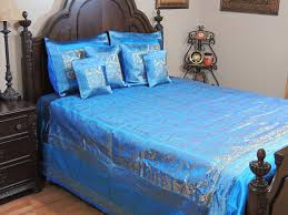 Peacock Inspired Bedroom Peacock Themed Bedroom Blue Bollywood Themed Decorative Bedding